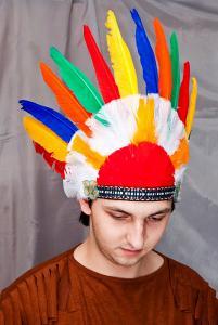 Головной убор индейца (маленький)