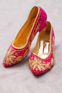 Туфли парчовые