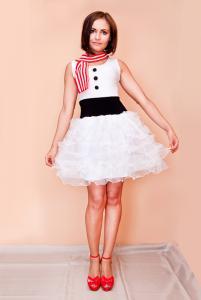 Снеговик (платье)
